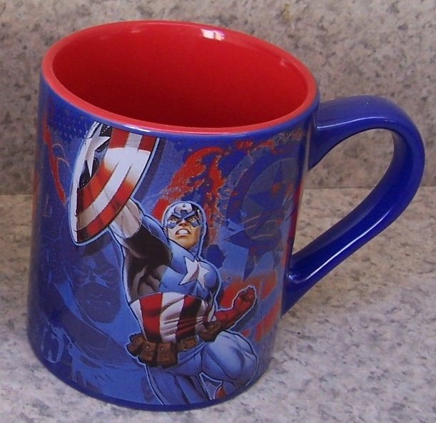 Captain America entertainment coffee mug thumbnail
